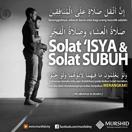 Sholat Isya Dan Subuh